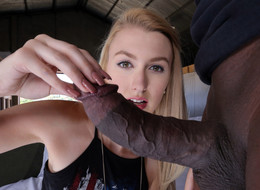 Alexa Grace Incredibly big black dick,..