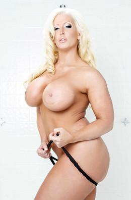 The passionate blonde Alura Jenson..