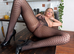 Dirty mature mom in stockings, Taylor..
