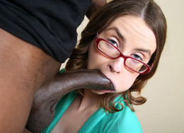 Perky glasses coed Jay Taylor sucks..