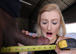 Cheating wife Alexa Grace testing BBC,..