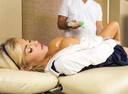 Big boobs massage, Kayla Kayden the..