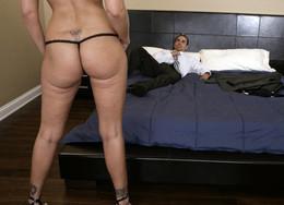 Busty milf Julia Ann big cock sex on..