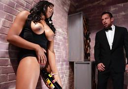 Ebony porn star Tara Fox mix porn..