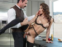 Persistent gentleman penetrates in..